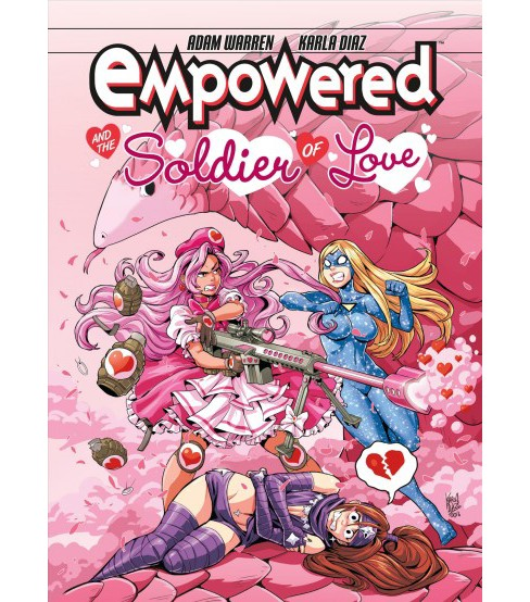 Empowered and the Soldier of Love -  by Adam Warren (Paperback) - image 1 of 1