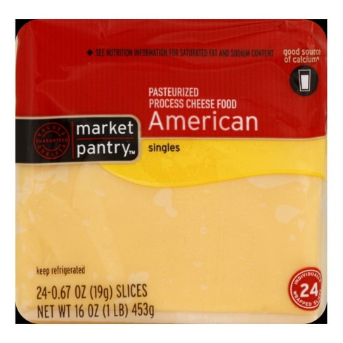 American Cheese Singles - 24ct - Market Pantry™ - image 1 of 1