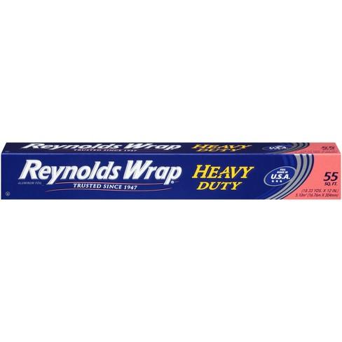 Reynolds Wrap Heavy Duty Aluminum Foil - 55 sq ft - image 1 of 5