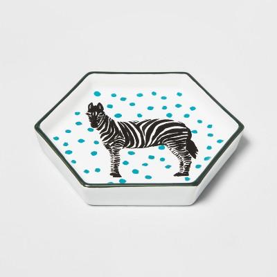 Hexagon Jewelry Storage Tray Zebra - Opalhouse™
