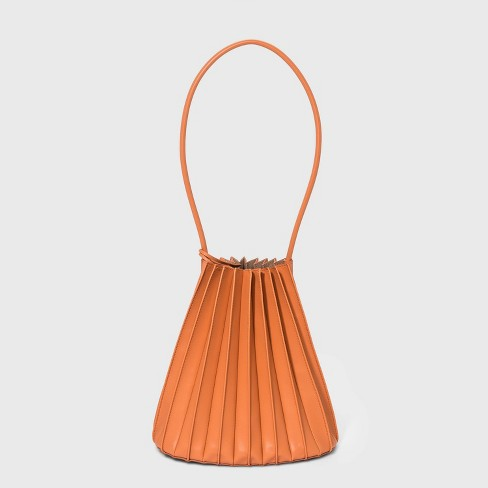 Pleated Bucket Bag - A New Day™ - image 1 of 4
