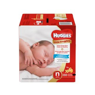 Huggies Little Snugglers Diapers - Newborn (88ct)