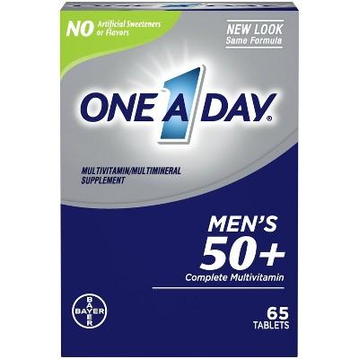 Multivitamins: One A Day Men's 50+ Healthy Advantage