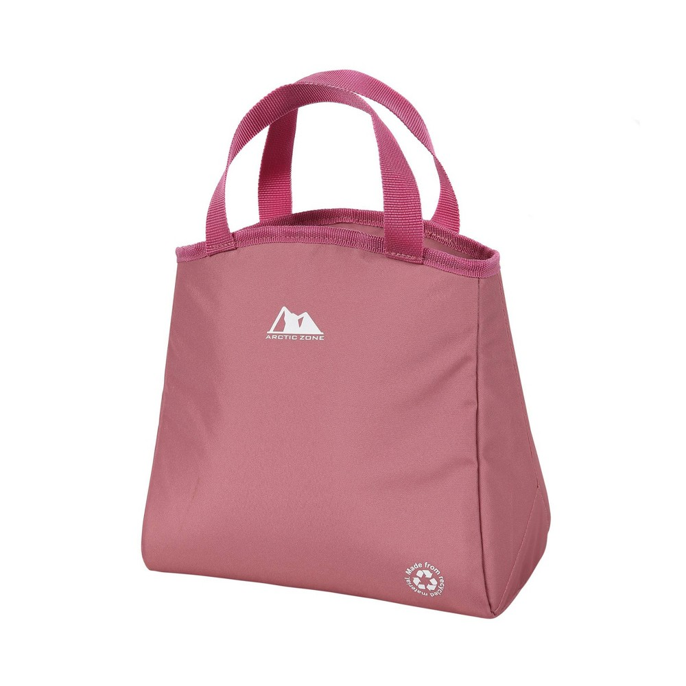 Image of Arctic Zone Recycled Material Lunch Tote - Dusty Rose