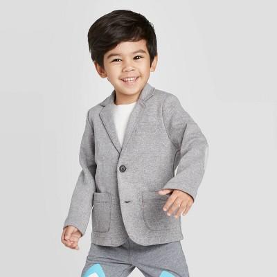 Toddler Boys' Blazer - Cat & Jack™ Gray 12M