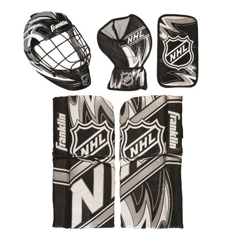 Franklin Sports Mini Hockey Goalie Equipment Mask Set Target