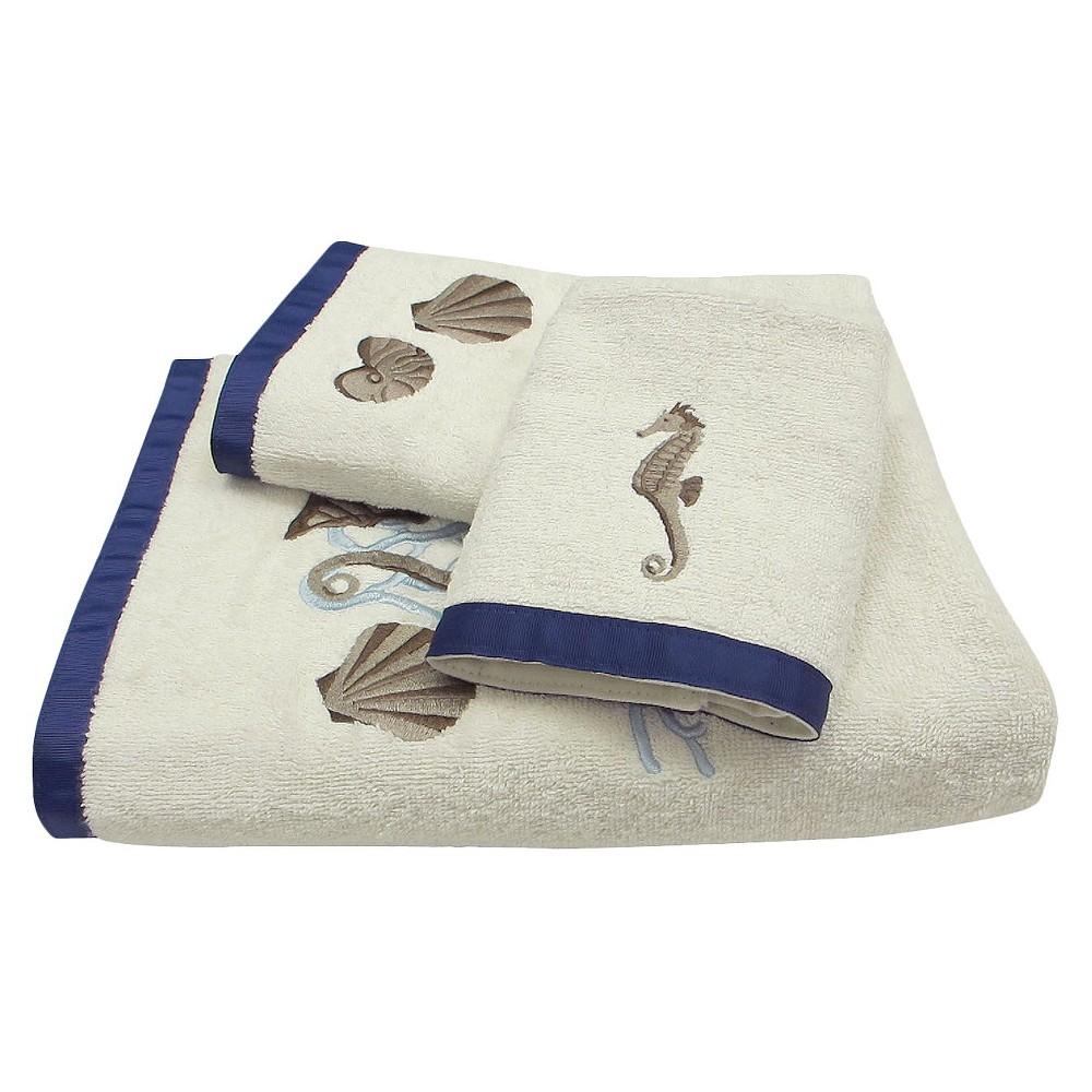 Folly Beach Stripe Towel 3pc Set, Multi-Colored