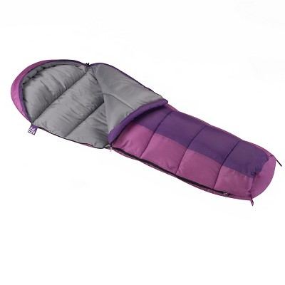 Wenzel Kids Backyard 30° Mummy Sleeping Bag - Purple