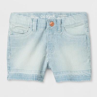 Toddler Girls' Jeans Shorts - Cat & Jack™ Light Blue 18M