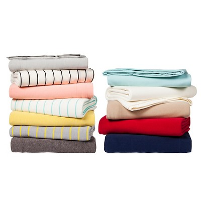 Jersey Sheet Set And Pillowcase Collection Room Essentials