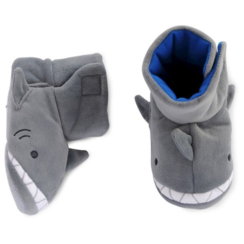 Toddler Boys' Shark Slipper - Cat & Jack™ Gray - image 1 of 1