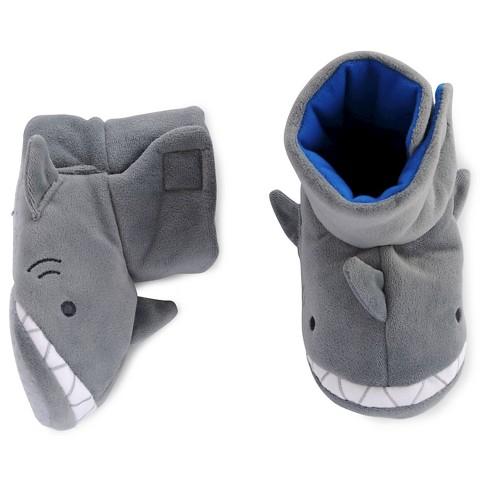 36e1afdfde3 Toddler Boys  Shark Slipper - Cat   Jack™ Gray 2T-3T   Target