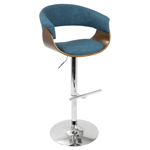 Fantastic Mod Mid Century Modern Adjustable Barstool Lumisource Pdpeps Interior Chair Design Pdpepsorg