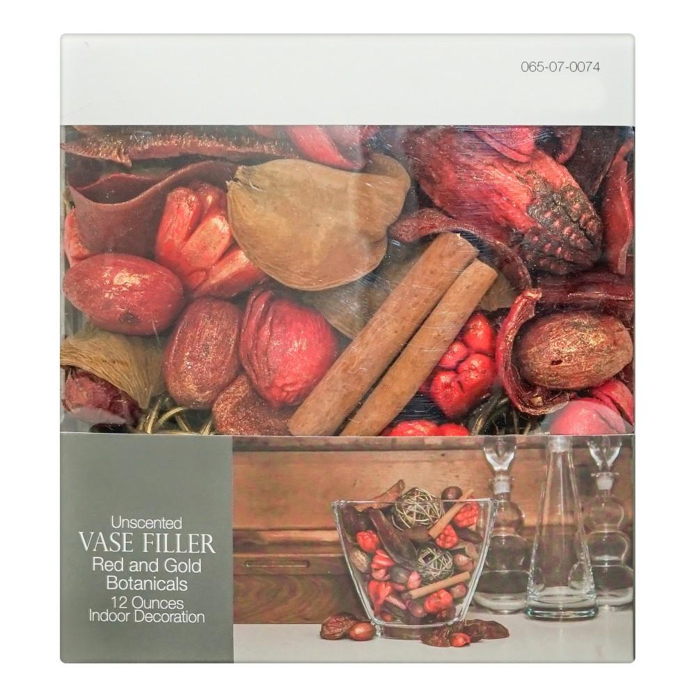 Image of Vase Filler Unscented Red/Gold Botanicals