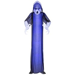 12' Lightshow Frightened Ghost Inflatable Halloween Decoration - Hyde & EEK! Boutique™