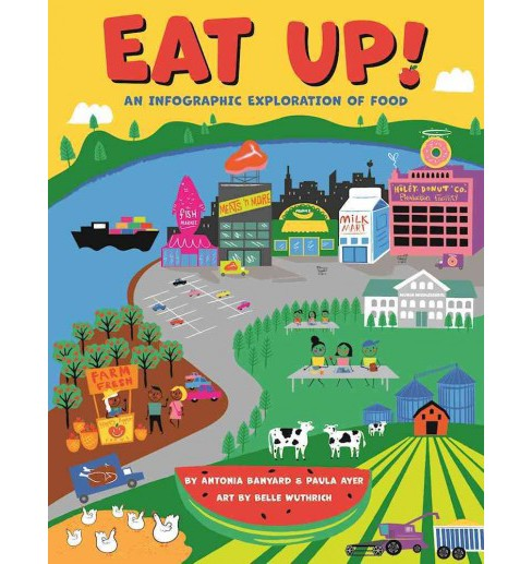 Eat Up! : An Infographic Exploration of Food -  by Antonia Banyard & Paula Ayer (Hardcover) - image 1 of 1
