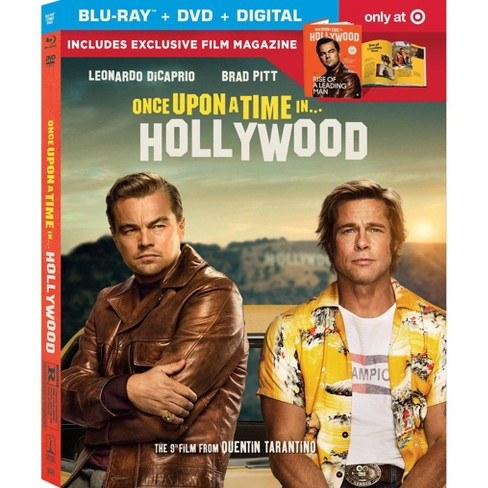 Once Upon A Time In Hollywood (Target Exclusive) (Blu-Ray + DVD + Digital) - image 1 of 1