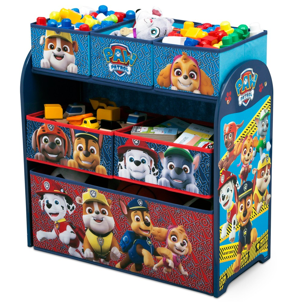 Image of PAW Patrol Kids Multi-Bin Toy Organizer - Nick Jr.