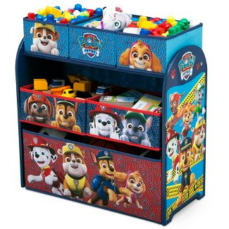 PAW Patrol Kids Multi-Bin Toy Organizer - Nick Jr.