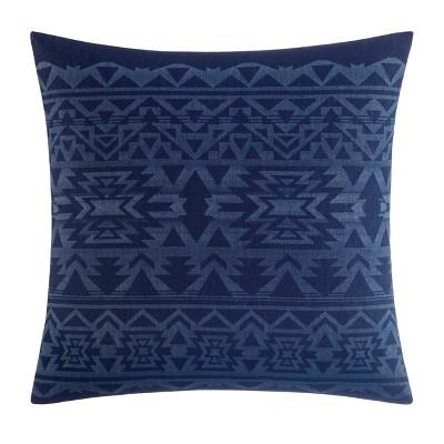 "20"" X 20"" Crescent Lake Throw Pillow Blue - Eddie Bauer"
