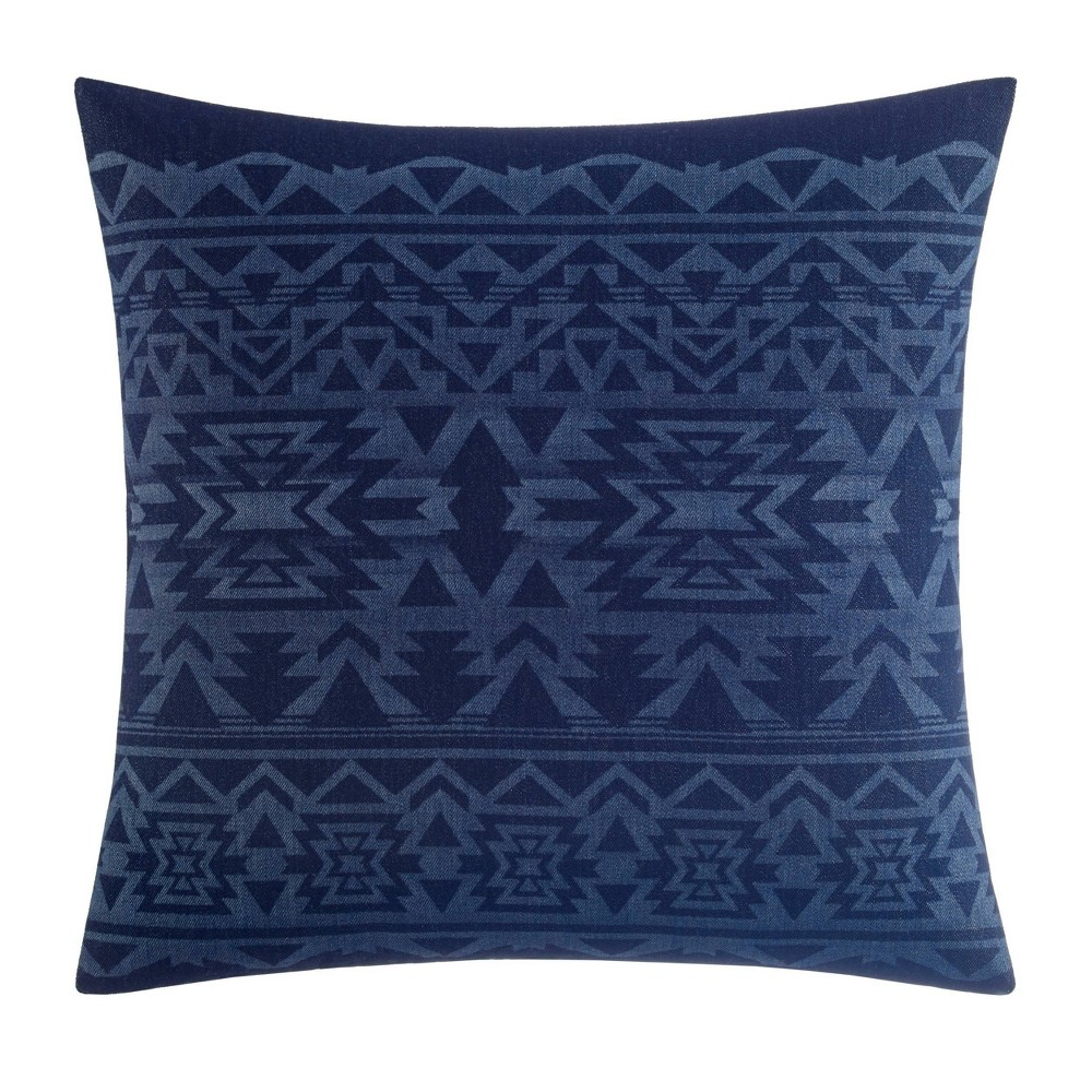 "Image of ""20"""" X 20"""" Crescent Lake Throw Pillow Blue - Eddie Bauer"""