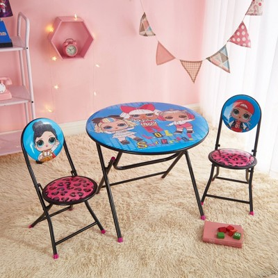 3pc L.O.L. Surprise! Remix Round Table and Chair Set