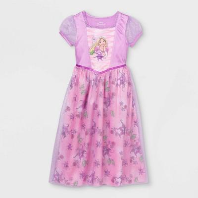 Girls' Disney Princess Rapunzel Nightgown - Purple