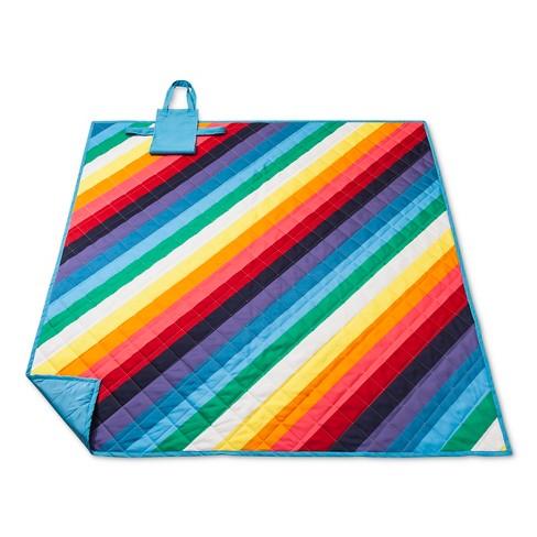 picnic blanket target Rainbow Stripe Wide Picnic Blanket : Target picnic blanket target