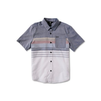 Volcom Boys Combo Stripe Short Sleeve Tee