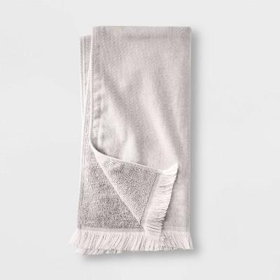 Flat Weave Hand Towel Gray - Casaluna™