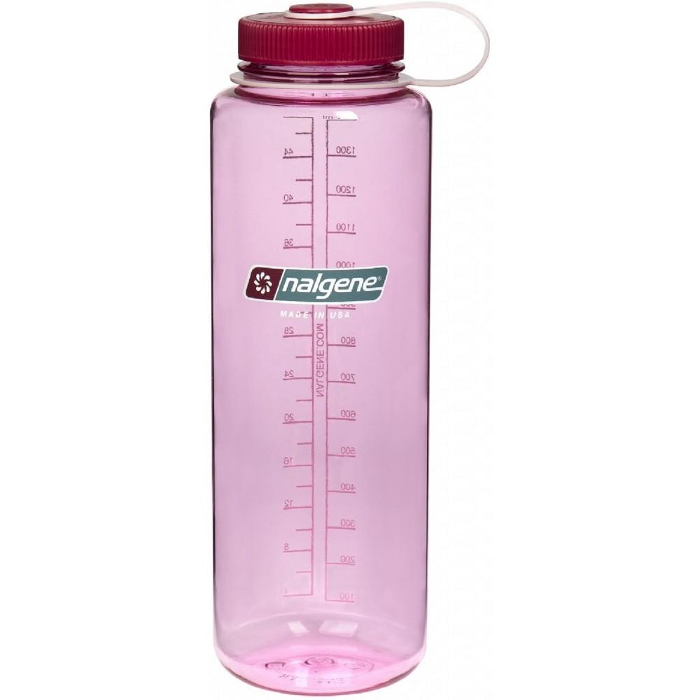 Nalgene Wide Mouth Tritan 48oz Water Bottle - Pink Silo