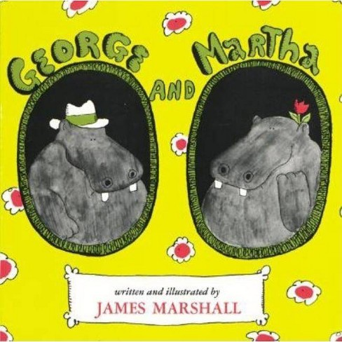 George and Martha - by  James Marshall (Hardcover) - image 1 of 1