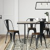 Carlisle High Back Dining Chair - Threshold™ - image 2 of 4