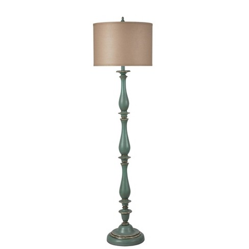 Charlton Floor Lamp Blue (Includes Light Bulb) - StyleCraft - image 1 of 4