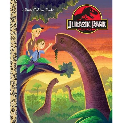 Jurassic Park Little Golden Book (Jurassic Park) - by Arie Kaplan (Hardcover)