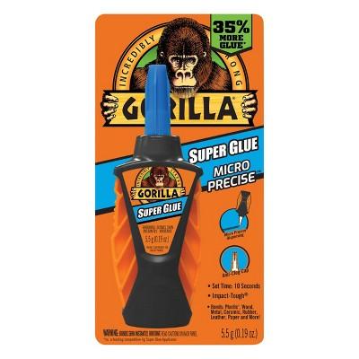 Gorilla 0.17fl oz 5.5g Micro Precise Super Glue Clear