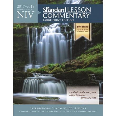 Niv Standard Lesson Commentary 2017 2018 Target
