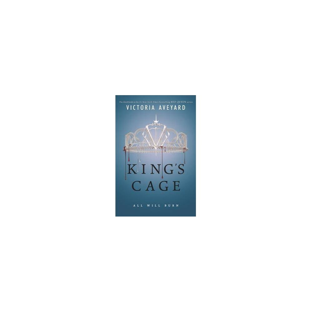 King's Cage - Reprint (Red Queen) by Victoria Aveyard (Paperback)