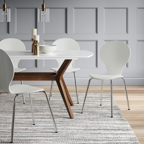 Emmond Mid Century 72 Dining Table White Brown Project 62 Target