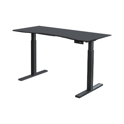 Baron Contemporary Adjustable Office Stand Up Table Large - HOMES: Inside + Out