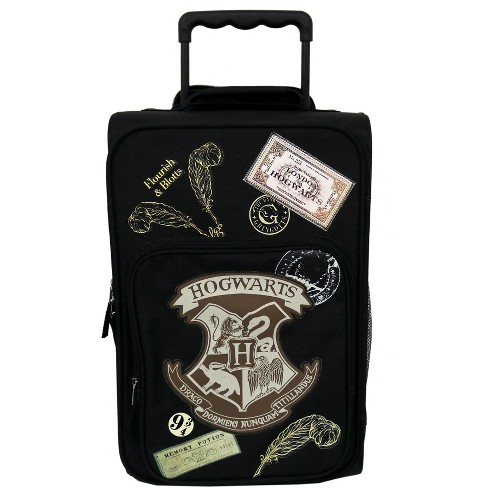 "Harry Potter 18"" Ready For Hogwarts Kids' Suitcase - Black - image 1 of 6"