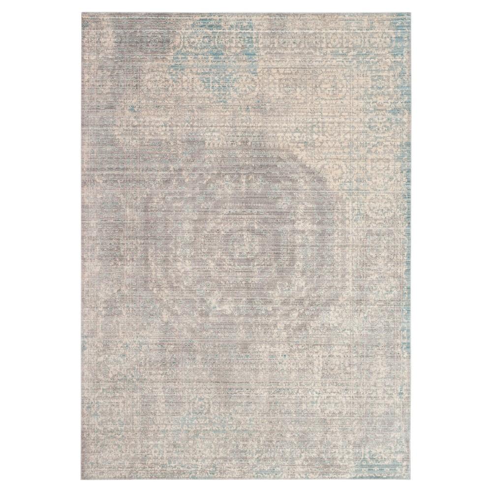 Valencia Rug - Gray- (5'x8') - Safavieh, Gray