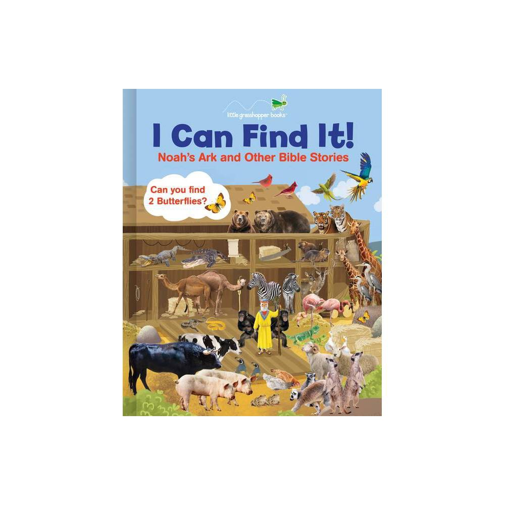 I Can Find It Noah S Ark And Other Bible Stories Large Padded Board Book