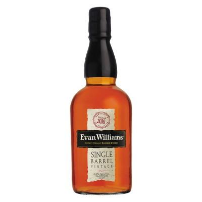 Evan Williams Single Barrel Bourbon Whiskey - 750ml Bottle