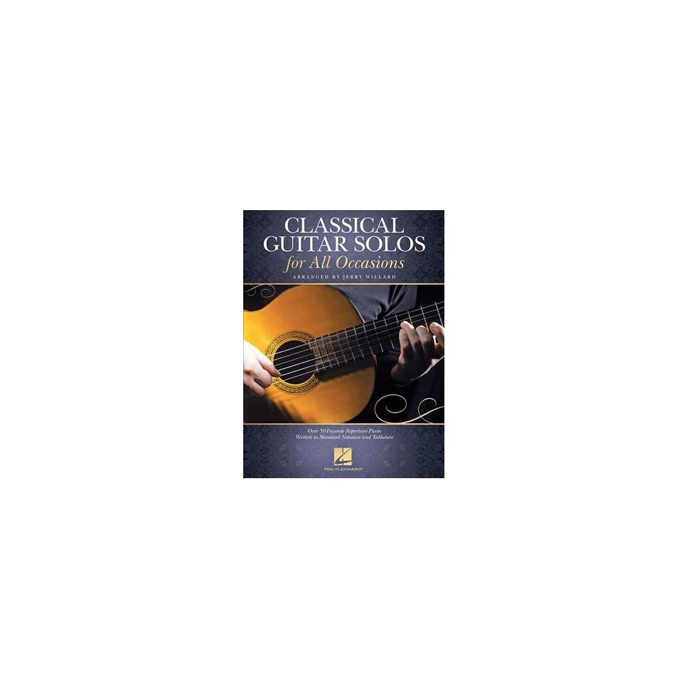 Classical Guitar Solos for All Occasions - (Paperback)
