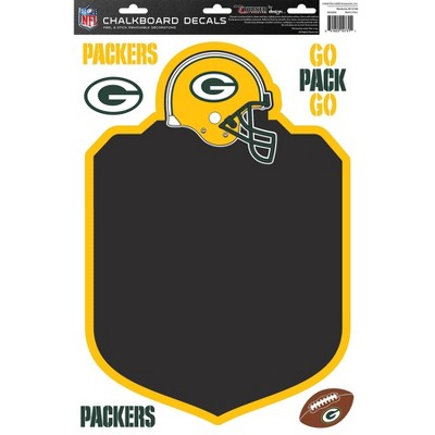 NFL Green Bay Packers Chalkboard Decals