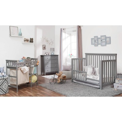 Sorelle Palisades Room in a Box Standard Full-Sized Crib Gray