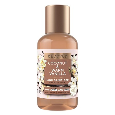Beloved Coconut & Warm Vanilla Hand Sanitizer - 2 fl oz