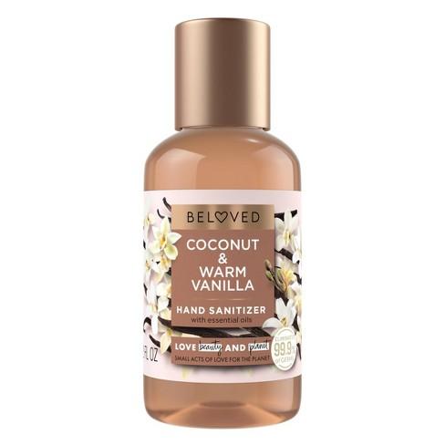 Beloved Coconut & Warm Vanilla Hand Sanitizer - 2 fl oz - image 1 of 4