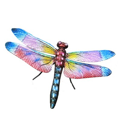 "Home & Garden 30.5"" Dragonfly Skimmer Stake Yard Decor Regal Art & Gift  -  Decorative Garden Stakes"